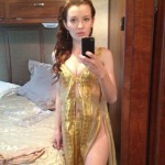 Hot Emily Browning selfie