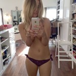 Kaley Cuoco topless selfie